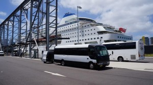 24 Seater HC bus transfer to cruise