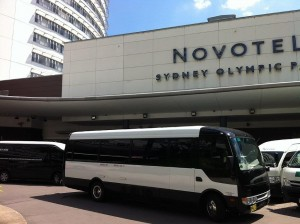 24 Seater HCbus at Novotel